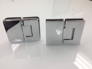 Square or bevelled Hinges